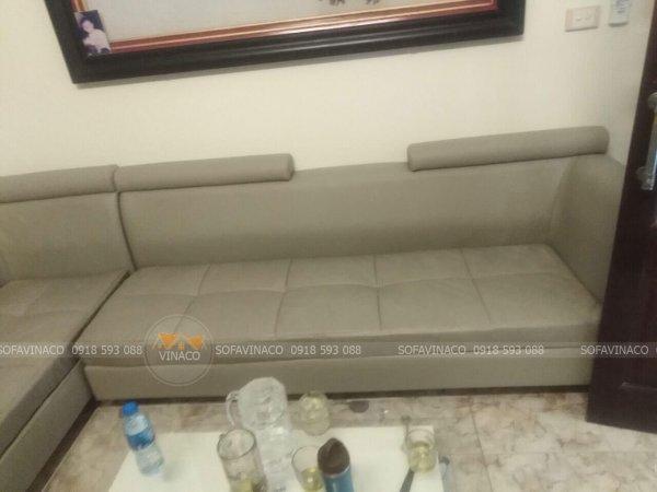 Bọc ghế sofa da thật và cả da công nghiêp tại Xuân Thủy Cầu Giấy