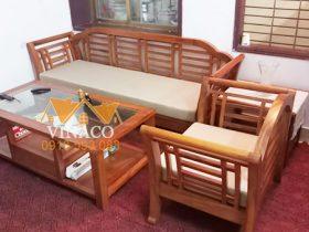 Bộ đệm ghế Grand Bois mỏng đã hoàn thành cho gia đình ở phố Đặng Văn Ngữ