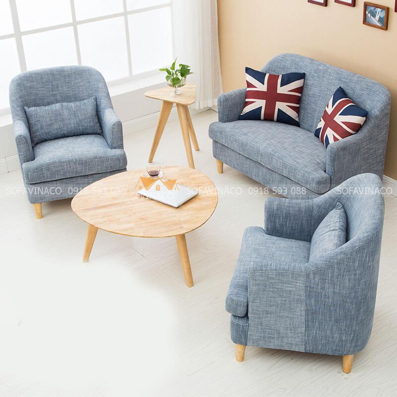 Mẫu ghế sofa kích thước nhỏ nhắn cho phòng khách nhỏ, căn hộ nhỏ