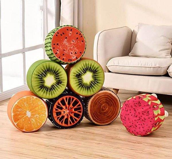 Ghế hình hoa quả dạng trụ nhỏ nhắn