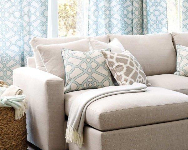 Ghế sofa được làm từ vải sợi nhân tạo acrylic