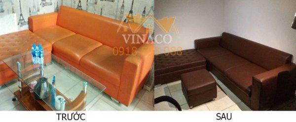 Kiểu ghế sofa đơn giản sẽ có giá bọc lại ghế rẻ hơn rất nhiều