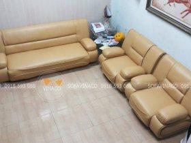Bọc ghế sofa da giá rẻ tại Ba Đình