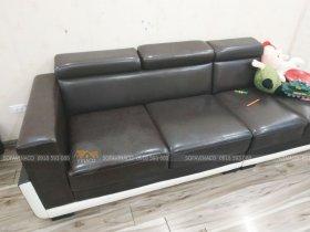 Công trình bọc từng phần của ghế sofa tại Nguyễn Phong Sắc, Cầu Giấy đã được hoàn thành