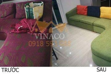 Giá bọc ghế sofa mới nhất năm 2019 tại Hà Nội của Vinaco