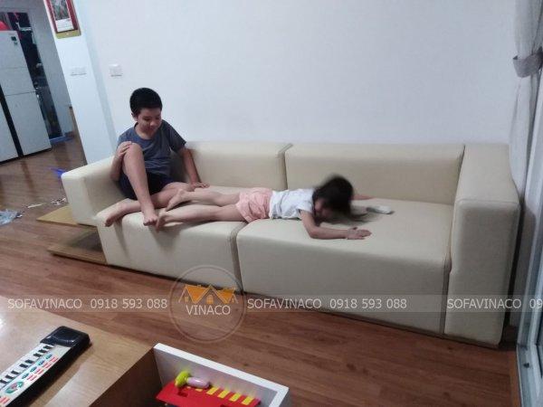 Công trình bọc ghế sofa tại quận Nam Từ Liêm