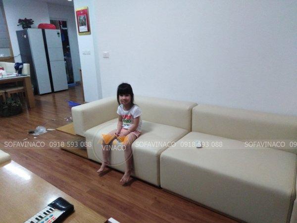 Bọc ghế sofa tại Mễ Trì