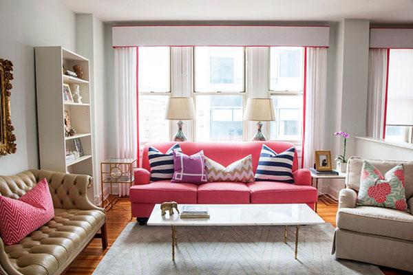 Muốn có phòng khách đẹp, ghế sofa phải phù hợp với tổng thể chung