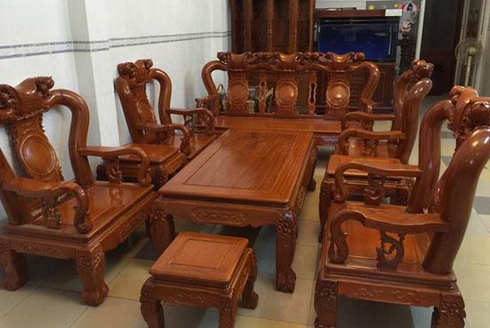 Bộ bàn ghế đồng kỵ đẹp và sang trọng
