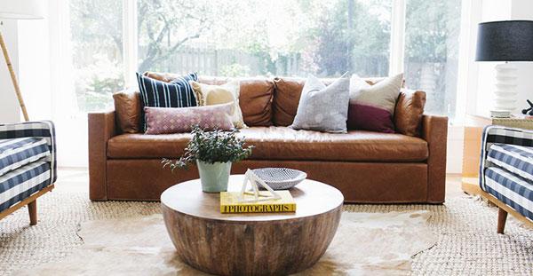 Bạn có thể chọn nguyên liệu da tốt để bọc ghế sofa được mới lâu và bền