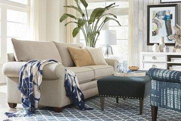 Thiết kế nội thất với ghế sofa và các loại vải nội thất bọc sofa