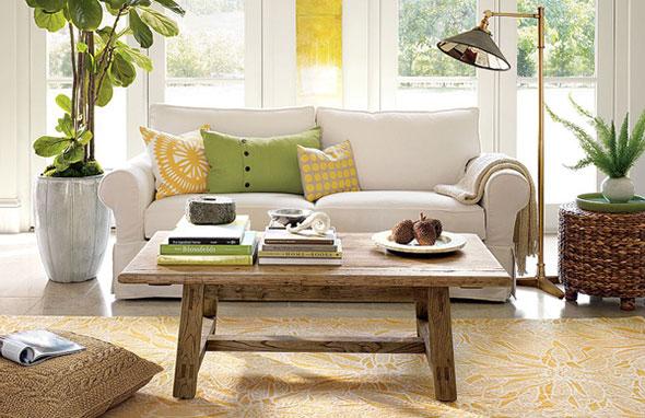 Ghế sofa màu trắng mang đến nhiều tài lộc cho gia chủ mệnh Thủy