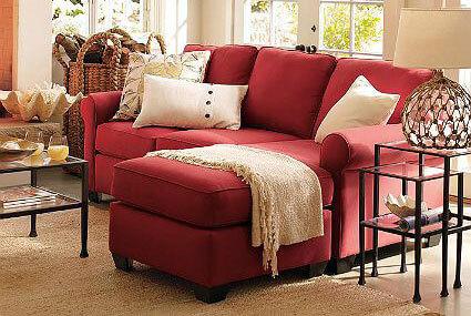 Người mệnh Hỏa nên chọn ghế sofa màu đỏ