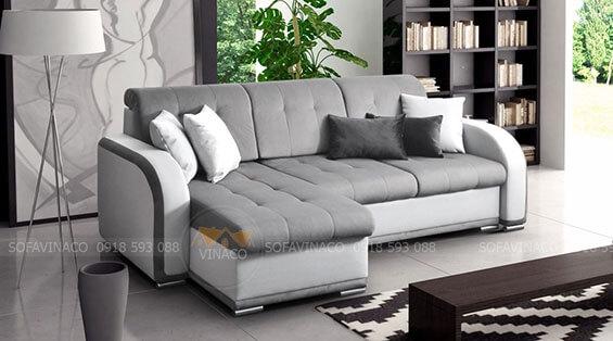 Sofa giường ngủ không chỉ tiện nghi mà còn có tính thẩm mỹ cao