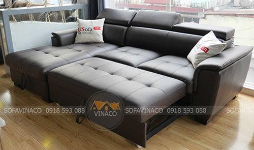 Sofa giường có nhiều kiểu dáng đẹp mắt