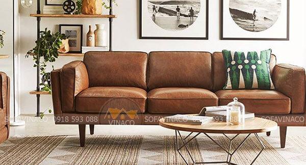 Bọc ghế sofa bằng chất liệu da công nghiệp cao cấp