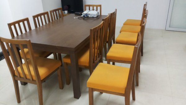 Bộ đệm ghế ăn cũ tại Ameralda Bà Triệu