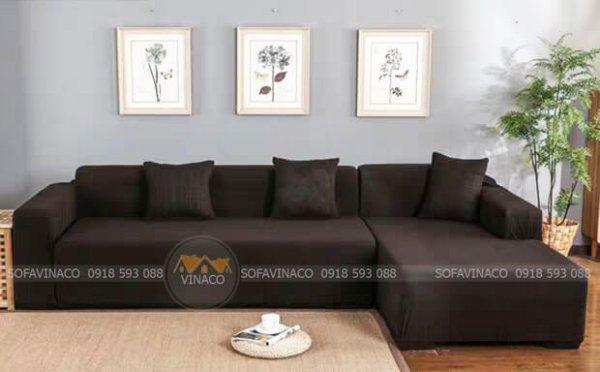 Mẫu ga trùm bọc ghế sofa của Vinaco