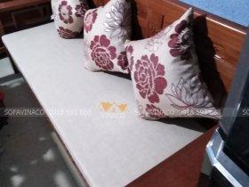 Làm đệm ghế gỗ hiện đại đẹp với Vinaco