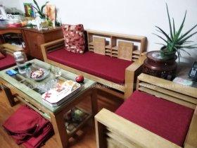 Bộ vỏ bọc đệm ghế cho khách hàng ở Trần Duy Hưng, Hoàn Kiếm