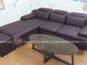 Công trình thay vỏ bọc ghế sofa đã được hoàn thành xuất sắc