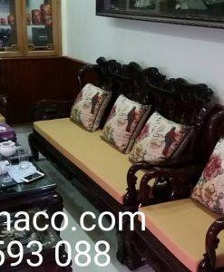 Đệm ghế sofa gỗ