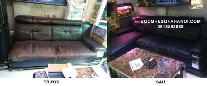 Bọc sofa cũ tại Đốc Ngữ, Hà Nội