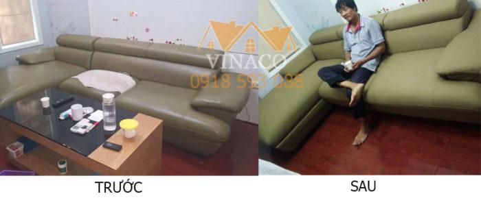 Bọc sofa thành sofa vải