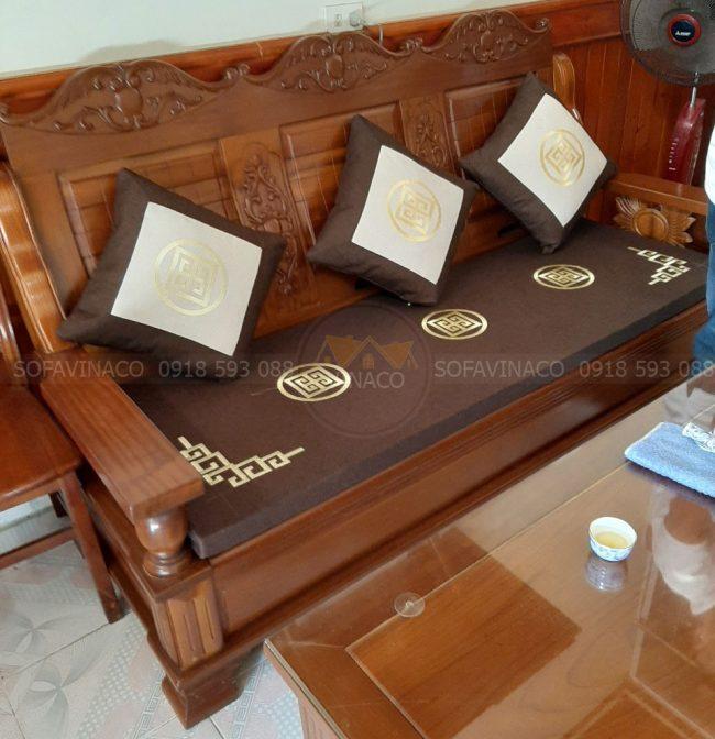 Bộ đệm ghế làm cho khách hàng ở Hà Nội