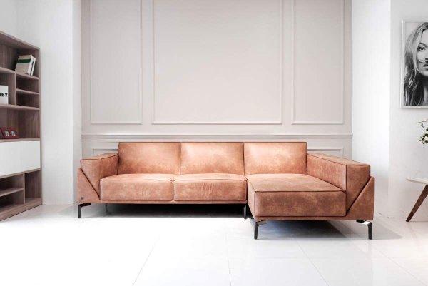 Bọc ghế sofa da - Ghế sofa da sử dụng thoải mái và rất bền