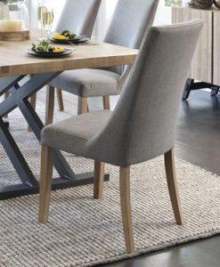 Bọc ghế ăn bằng vải nỉ