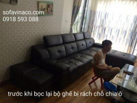 Bộ ghế sofa cũ của gia đình tại Mỗ Lao - Hà Đông