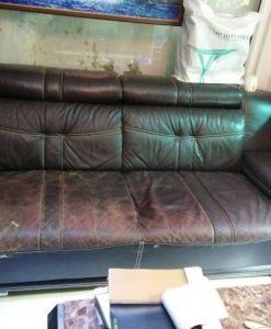 Bộ ghế sofa cũ nhà chị Hương tại đường Giải Phóng