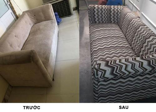 Bọc ghế sofa ở quận Hoàng Mai