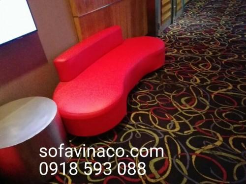 Bọc ghế sofa tại rạp chiếu phim CGV - Tây Sơn