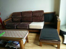 Bộ ghế sofa cần bọc lại nhà chị Hằng