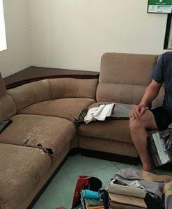Bộ ghế sofa cũ nhà anh Ngọc tại Phú Diễn, Từ Liêm
