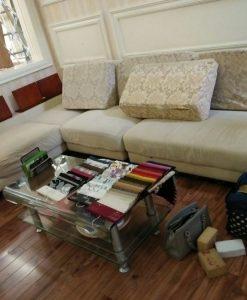 Bộ ghế sofa đã cũ tại Mễ Trì