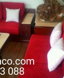 Bộ đệm ghế 15 cm nhà cô Vân ở Trung Kính, Trung Hòa, Cầu Giấy
