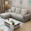 Sofa góc được dùng khá phổ biến cho kiểu nhà hiện đại