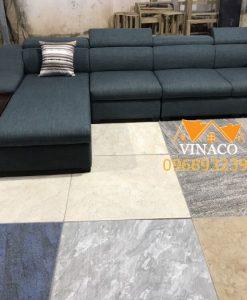 Dịch vụ đóng ghế sofa của Vinaco đã mang đến một bộ ghế sofa hoàn toàn đúng như ý muốn của gia đình