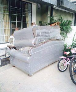 Bộ ghế sofa cũ cần được bọc lại