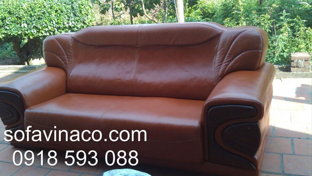 Bọc ghế sofa da thật tại Mỹ Đình Sông Đà
