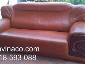 Dịch vụ bọc ghế sofa da của Vinaco đã biến bộ ghế này trở về với vẻ ban đầu