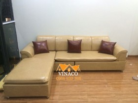 Bọc ghế sofa da tại Hoàng Đạo Thúy, Trung Hòa, Cầu Giấy