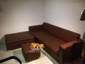 Công trình bọc ghế đã hoàn thành tại nhà anh Hà ở Tam Trinh