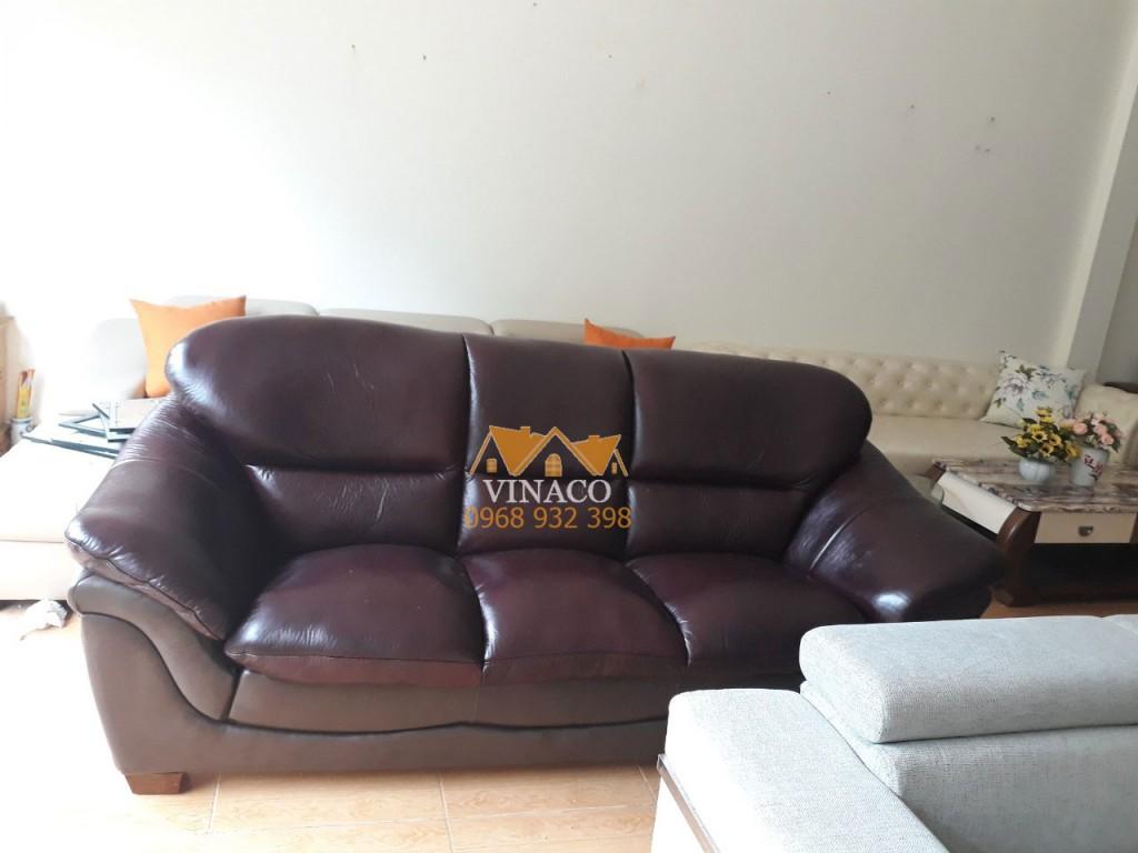 Bọc mặt ghế sofa da tại Thái Hà