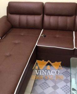Bộ ghế sofa góc được thiết kế tỉ mỉ từng chi tiết