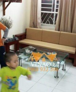Dịch vụ làm đệm ghế theo kích thước, chất liệu tự chọn của Vinaco