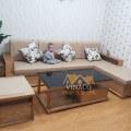 Đệm ghế bông ép cho gia đình anh Sơn ở 99 Trần Bình